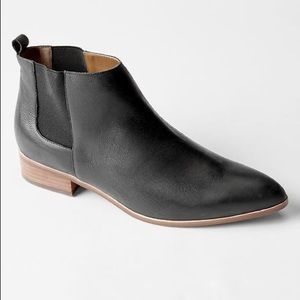 Barely Used Leather Chelsea Booties by Gap(8,5)